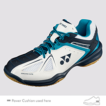 SHB-Power Cushion 35 JUNIOR White/Sky Blue