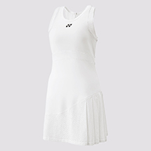 WOMEN'S DRESS WITH INNER SHORTS 20461 White