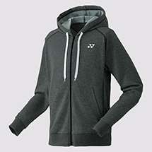 MENS FULL ZIP HOODIE YM0016 Charcoal