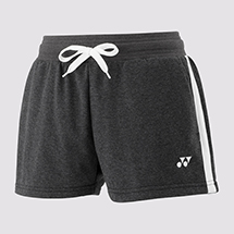 LADIES SWEAT-SHORT YW0015 Charcoal